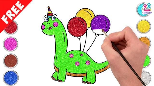 Chiki Art -Baby Dinosaur