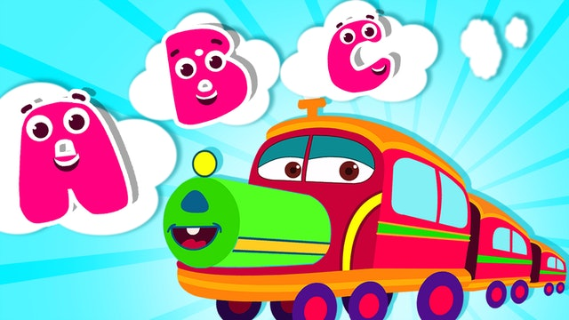 ABC Train Song (Ice Cream World)