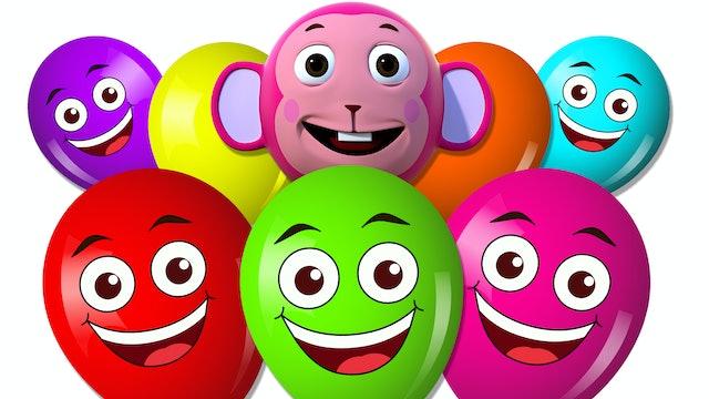 Balloon Finger Family