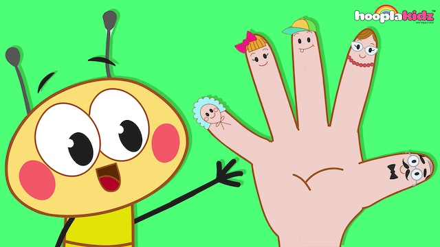 Bee Finger Family