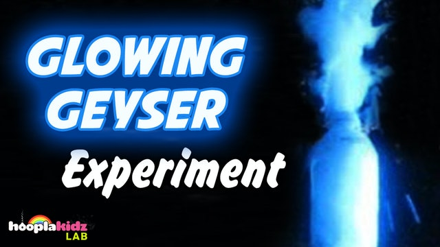 Glowing Geyser Experiment