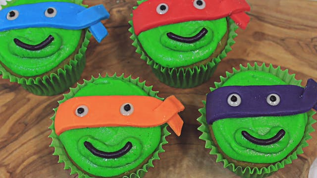 Teenage Mutant Ninja Turtles Cupcake