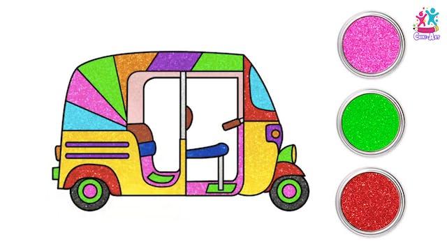 Chiki Art - Rickshaw