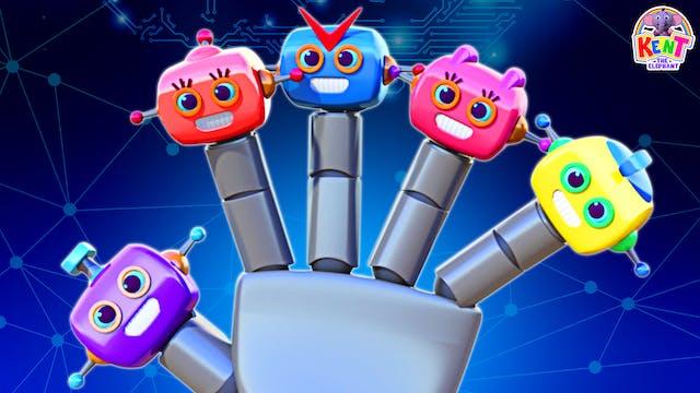 Kent The Elephant - Robot Finger Family