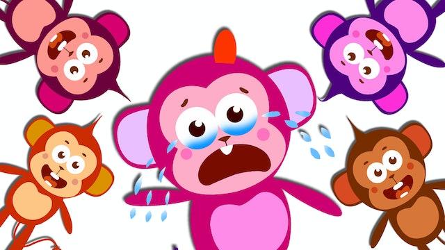 Five Little Monkeys - Crazy Little Monkeys
