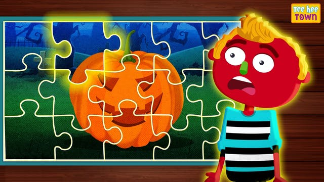 Teehee Town - Halloween Jigsaw Puzzle