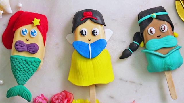 Princess Design Cake Pops