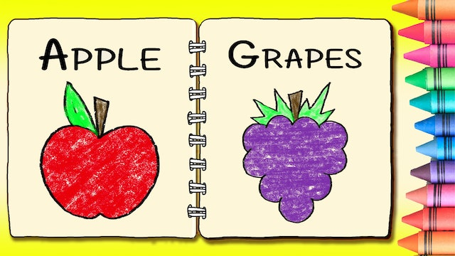 Color Book Series: Fruit