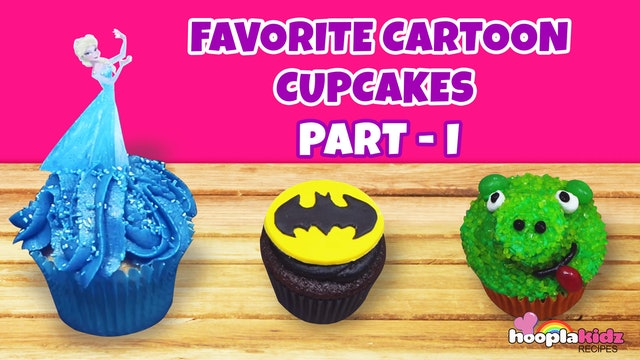 Your Favorite Cartoon Cupcakes Part - 1