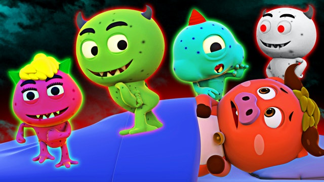 Five Spooky Monsters