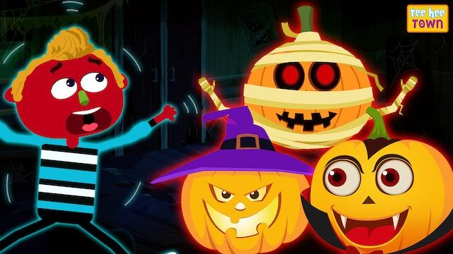 Teehee Town - Pumpkin Finger Family