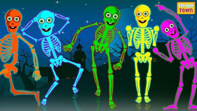 Teehee Town - Five skeletons