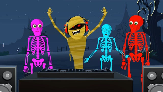 Five Skeletons Went Out One Night
