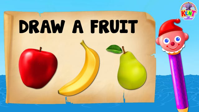 Kent the Elephant - Learn Fruits with...