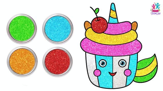 Chiki Art - Unicorn Cupcake