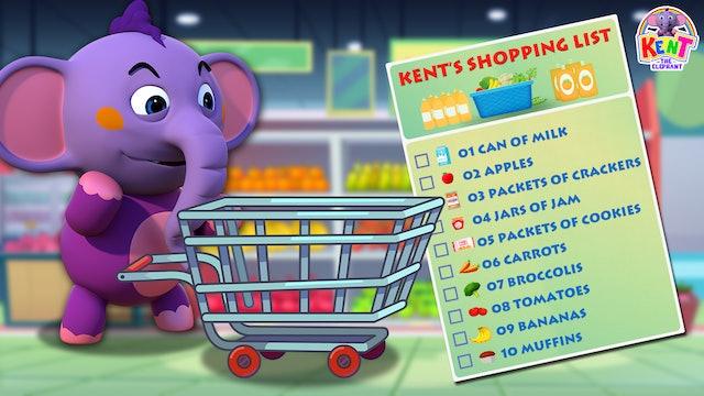 Kent the Elephant - Kent Shopping list