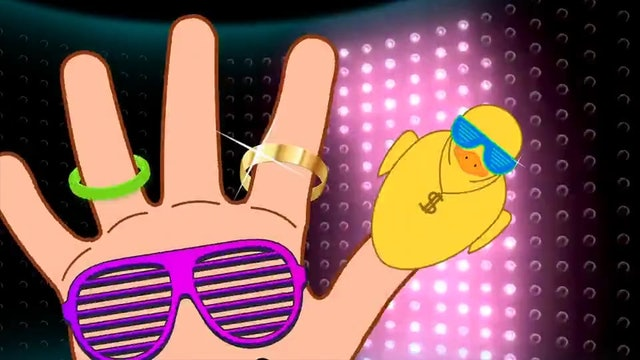Duck Finger Family (Hip-Hop Version)