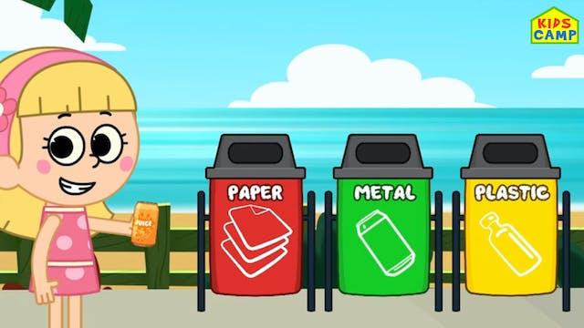 KidsCamp - Clean Up Trash Song
