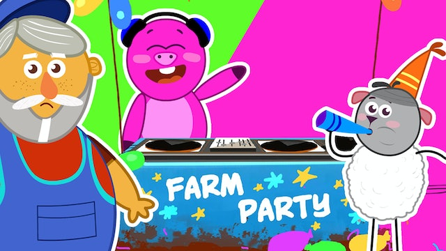 Old MacDonald - Farm Party With Farm Animals