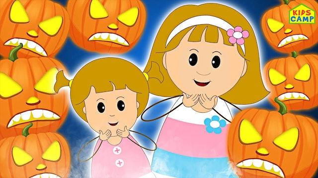 KidsCamp - Five Jack-O Lanterns