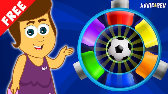 Annie And Ben - Learn Colors With The Color Wheel With Mango