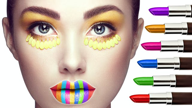 Learn Colors With Colorful Face