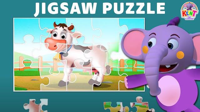 Kent the Elephant - Farm Animal Jigsa...