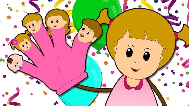 Eva's Birthday (Finger Family Song)