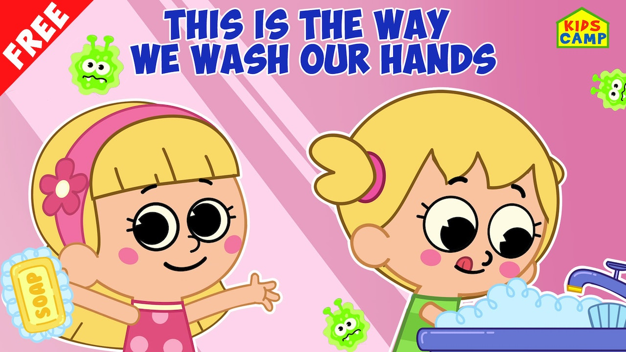 Special Of The Day - This Is The Way We Wash Our Hands