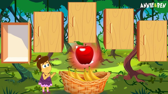 Annie And Ben - Learn Fruits And Matching Wrong Door Matching Games