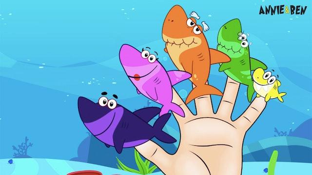 Annie And Ben - Shark Finger Family