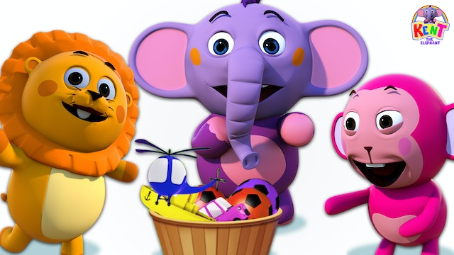Kent the Elephant - Kent Share Gift Toys