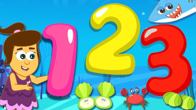 Learn Numbers & Colors With Underwater Animals