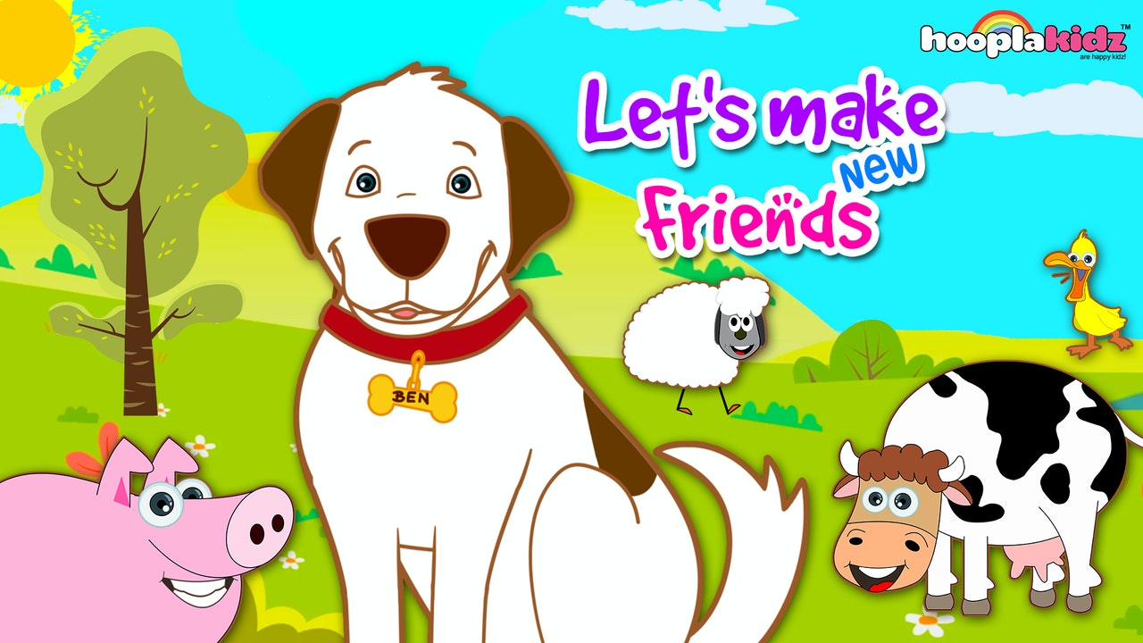 HooplaKidz - Let's Make New Friends