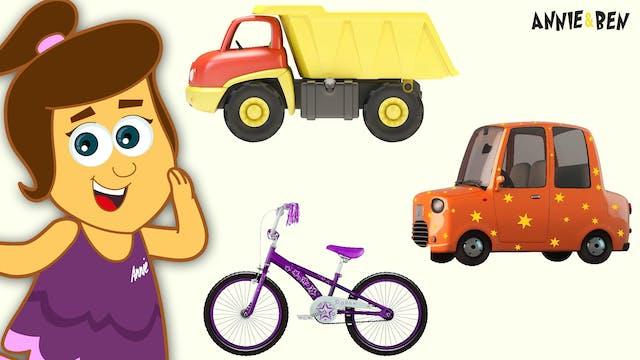 Annie & Ben - Learn Vehicles
