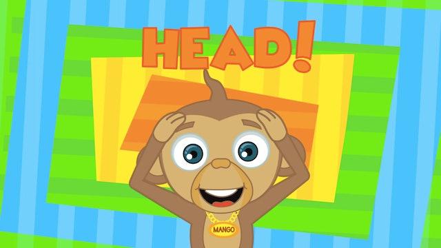 HooplaKidz - Head Shoulders Knees and Toes
