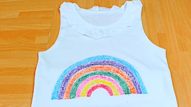 Printing on a T-shirt