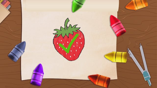 Learn Colors with Fruits