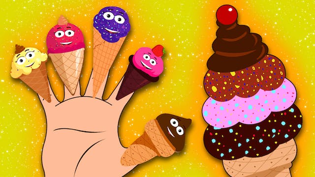 Ice Cream Finger Family Song