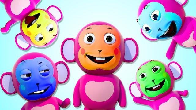 Monkey Finger Family