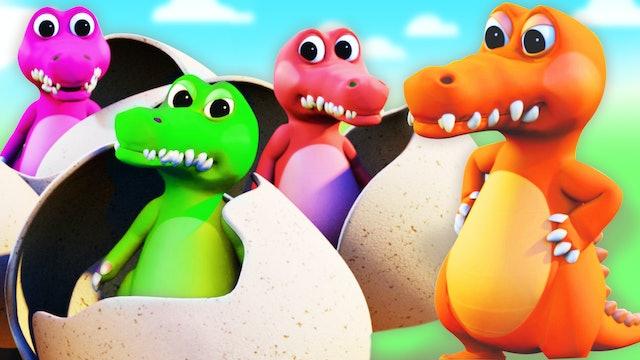 Five Little Crocodiles