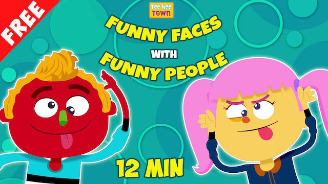 Movie Of The Day - Funny Faces with Funny People