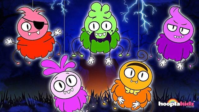 HooplaKidz - Five Funny Spiders