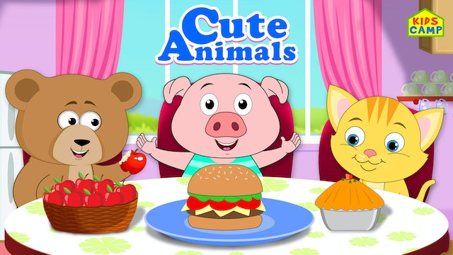 Cute Animals Nursery Rhymes Time
