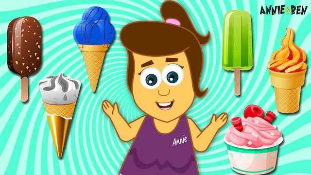 Annie And Ben - Learn Numbers With Ice Cream Train