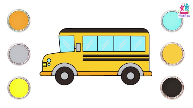 How To Draw A Schoolbus