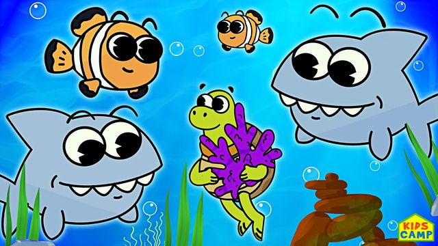 KidsCamp - Ten Little Baby Sharks
