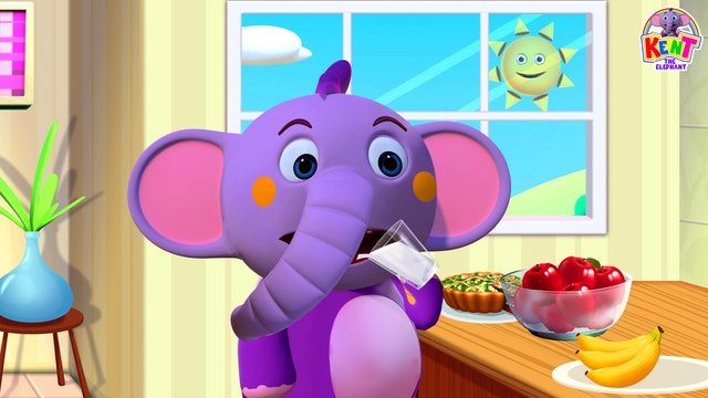 Kent the Elephant - Morning Routine With Kent