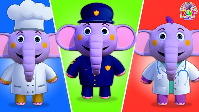 Kent the Elephant - Learn Professions With Kent