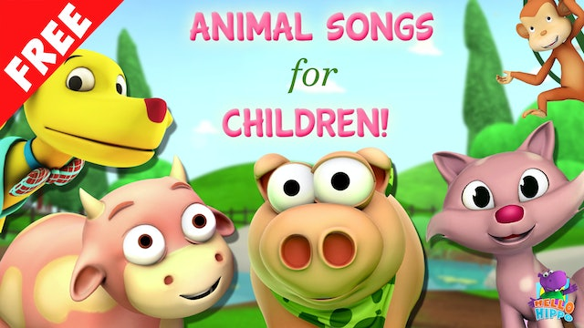 Animal Songs for Children!